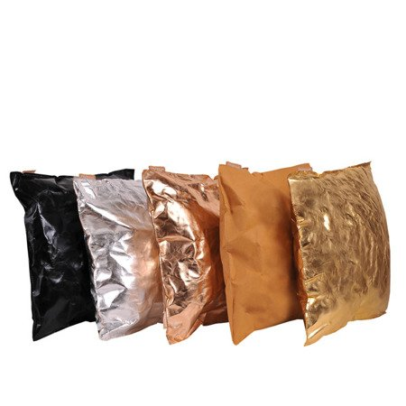 Poduszka dekoracyjna kolor miedziany